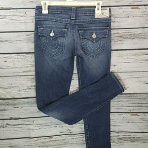 Like new True Religion skinny jeans size 26